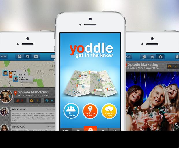 Yoddle – iPhone Design