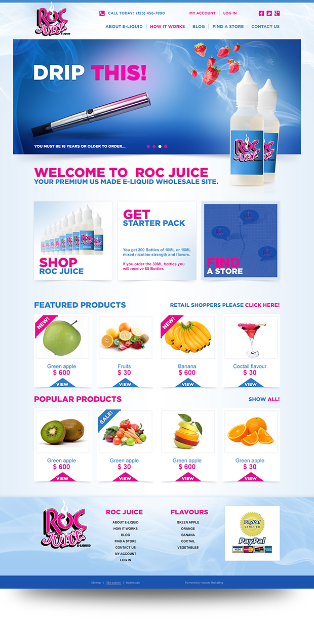Roc Juice E-Liquid