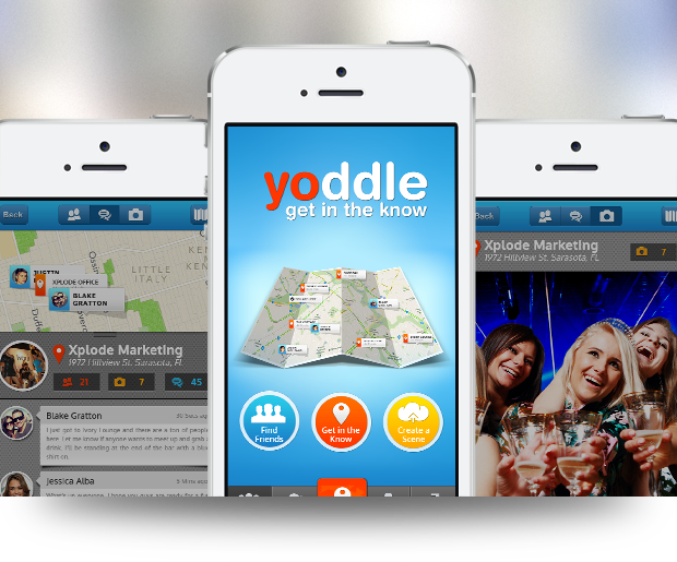 Yoddle – iPhone Design