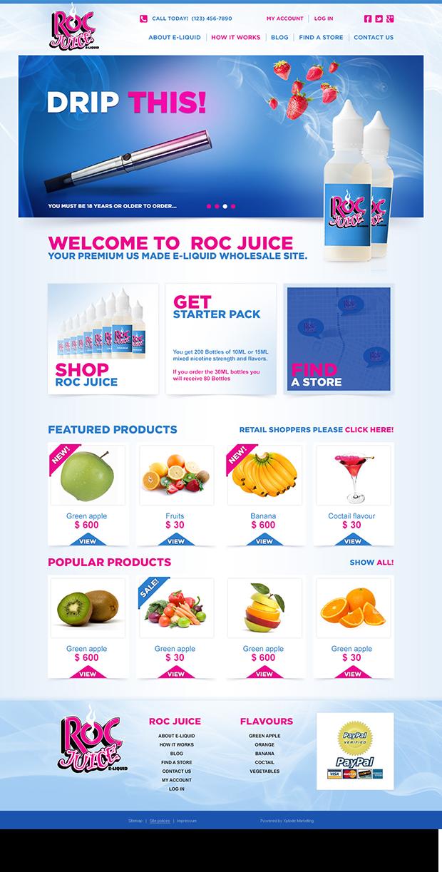 Roc Juice E-Liquid